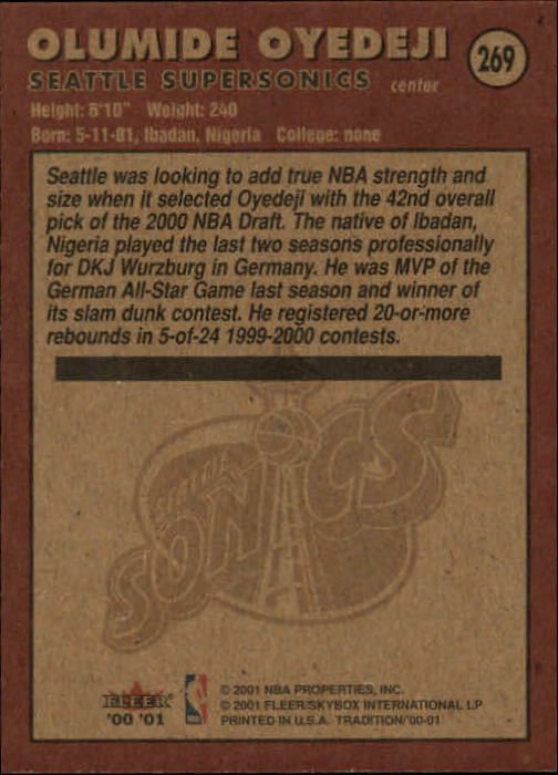 2000-01-Fleer-Basketball-Cards-Pick-From-List thumbnail 425