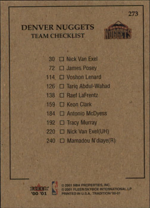 2000-01-Fleer-Basketball-Cards-Pick-From-List thumbnail 431