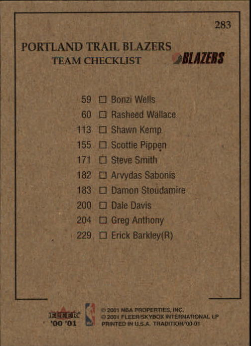 2000-01-Fleer-Basketball-Cards-Pick-From-List thumbnail 447