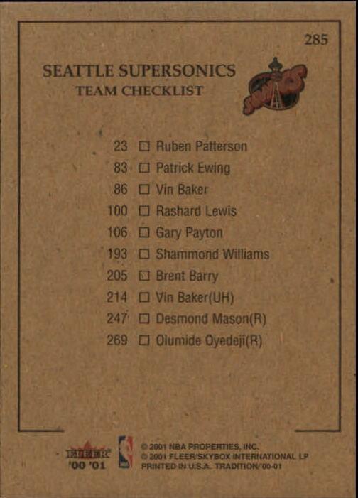 2000-01-Fleer-Basketball-Cards-Pick-From-List thumbnail 449