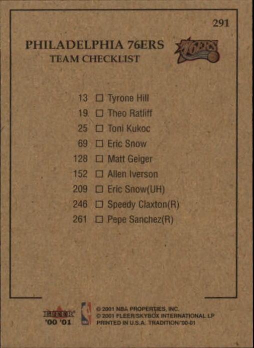 2000-01-Fleer-Basketball-Cards-Pick-From-List thumbnail 459