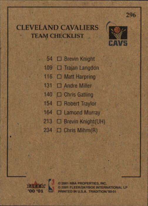 2000-01-Fleer-Basketball-Cards-Pick-From-List thumbnail 465