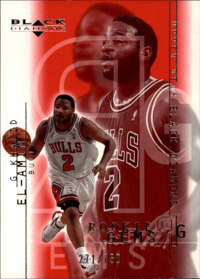 2000-01 Black Diamond #116 Khalid El-Amin RC