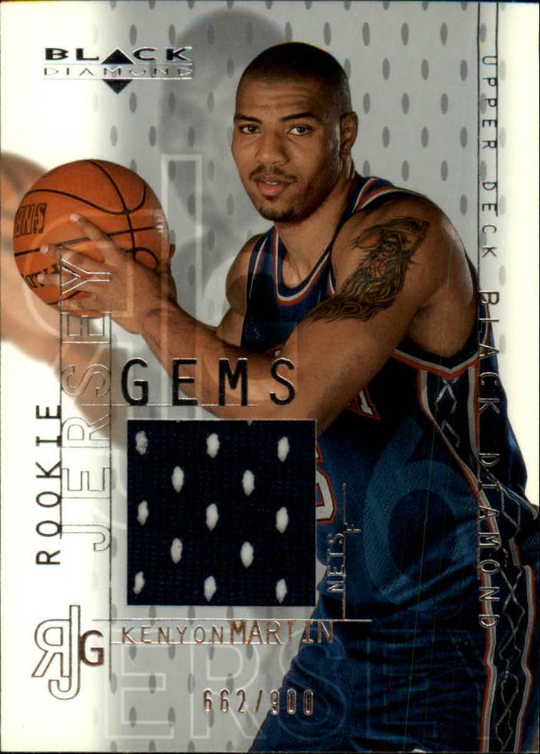2000-01 Black Diamond #132 Kenyon Martin JSY RC
