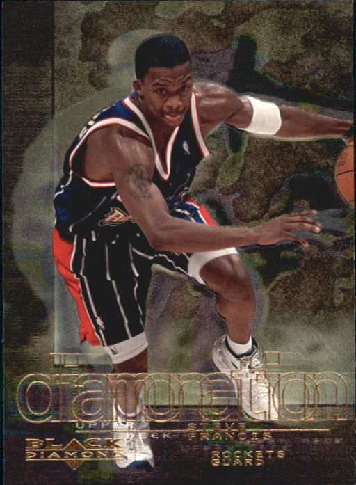 2000-01 Black Diamond Diamonation #D2 Steve Francis