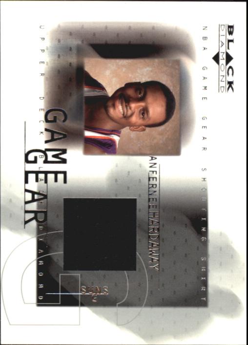 2000-01 Black Diamond Game Gear #AH Anfernee Hardaway