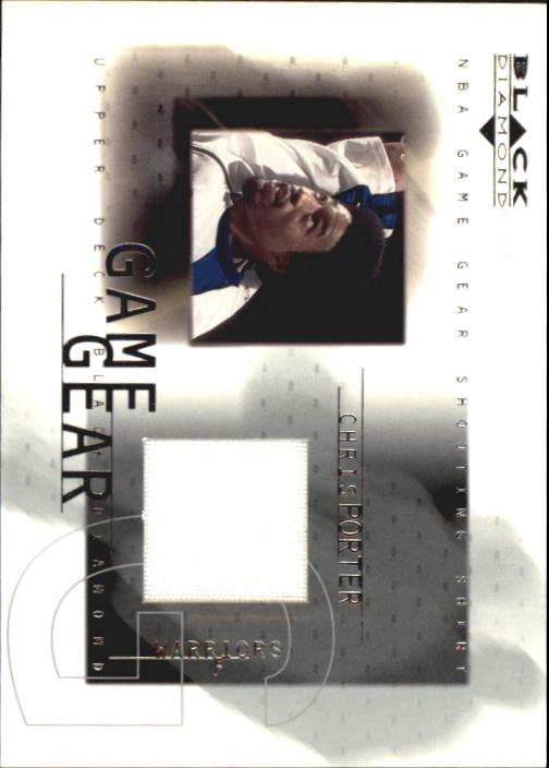 2000-01 Black Diamond Game Gear #CP Chris Porter