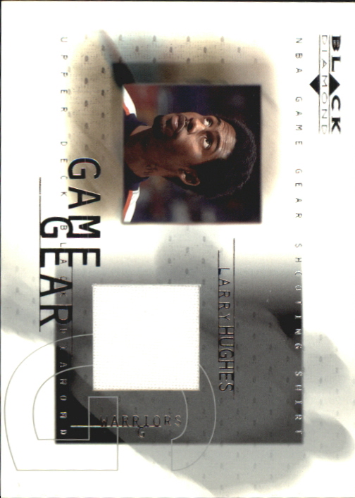 2000-01 Black Diamond Game Gear #LH Larry Hughes