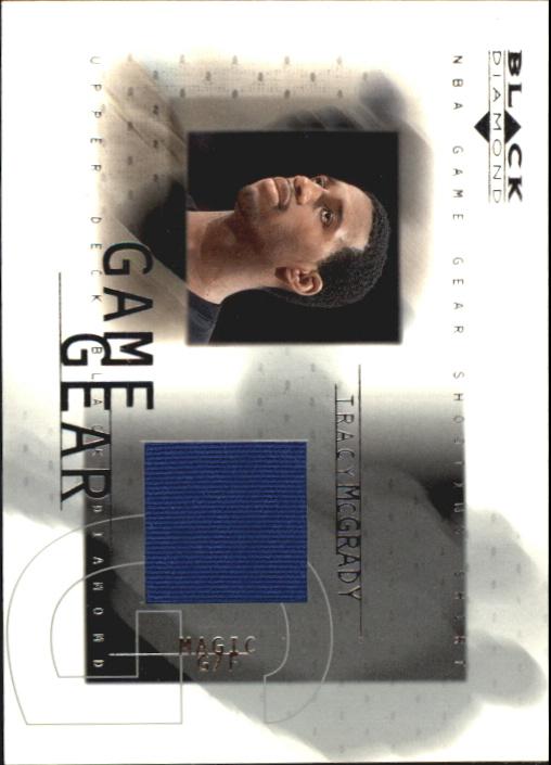 2000-01 Black Diamond Game Gear #TM Tracy McGrady
