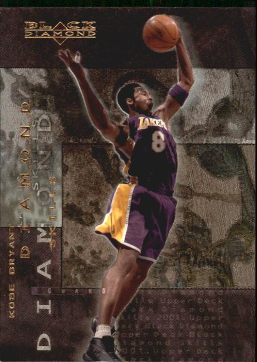 2000-01 Black Diamond Skills #DS10 Kobe Bryant