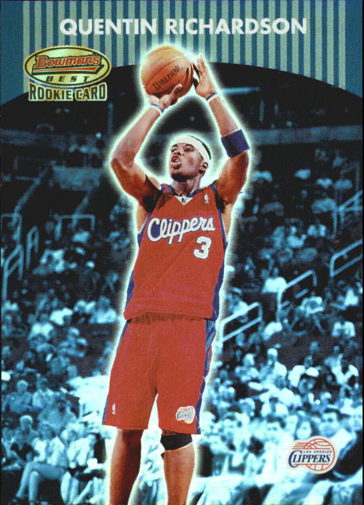 2000-01 Bowman's Best #118A Quentin Richardson RC