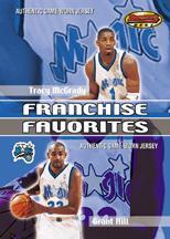 2000-01 Bowman's Best Franchise Favorites #FFJ1 Tracy McGrady/Grant Hill JSY