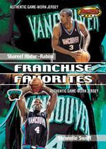 2000-01 Bowman's Best Franchise Favorites #FFJ6 Shareef Abdur-Rahim/Stromile Swift JSY