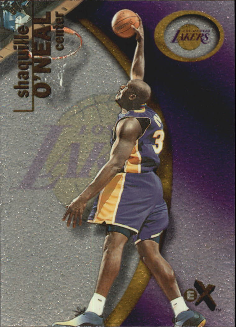 2000-01 E-X #38 Shaquille O'Neal