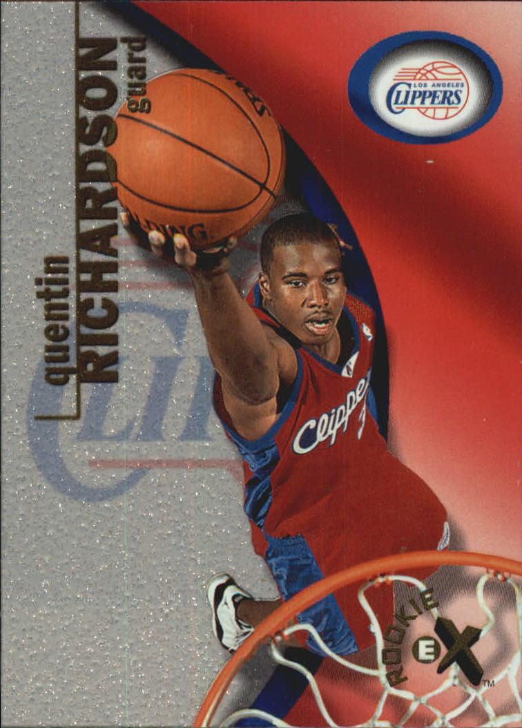 2000-01 E-X #110 Quentin Richardson RC