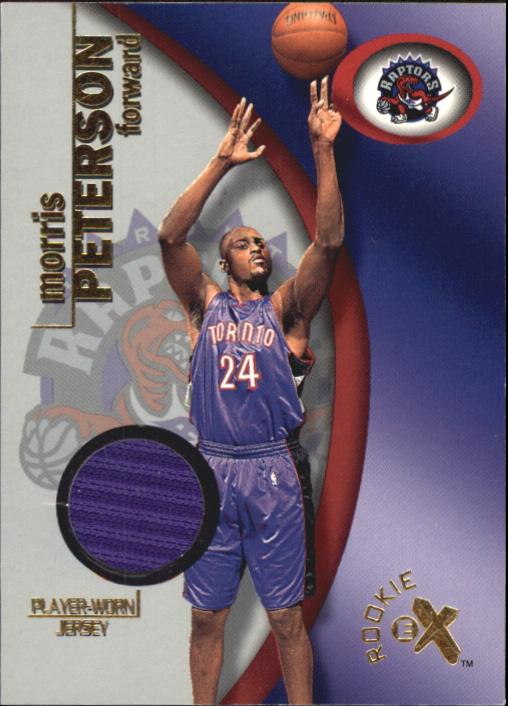 2000-01 E-X Rookie Memorabilia #114 Morris Peterson JSY/275