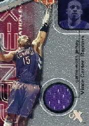 2000-01 E-X Generation E-X Game Jerseys #GE1 Vince Carter