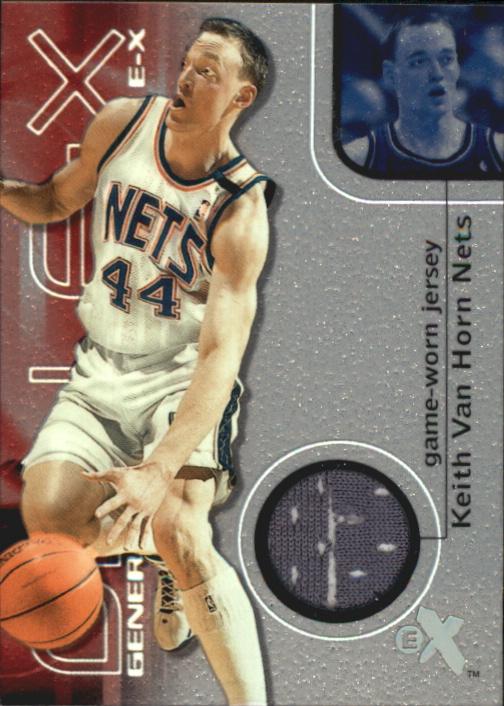 2000-01 E-X Generation E-X Game Jerseys #GE5 Keith Van Horn