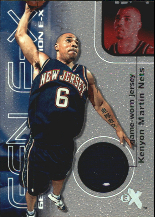 2000-01 E-X Generation E-X Game Jerseys #GE12 Kenyon Martin