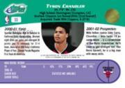 2001 eTopps #55 Tyson Chandler/953 back image