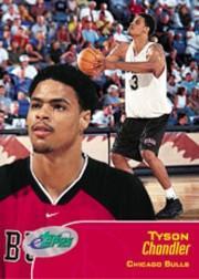 2001 eTopps #55 Tyson Chandler/953