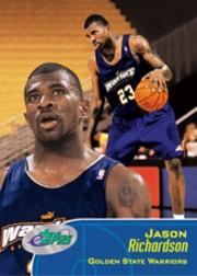 2001 eTopps #58 Jason Richardson/1689