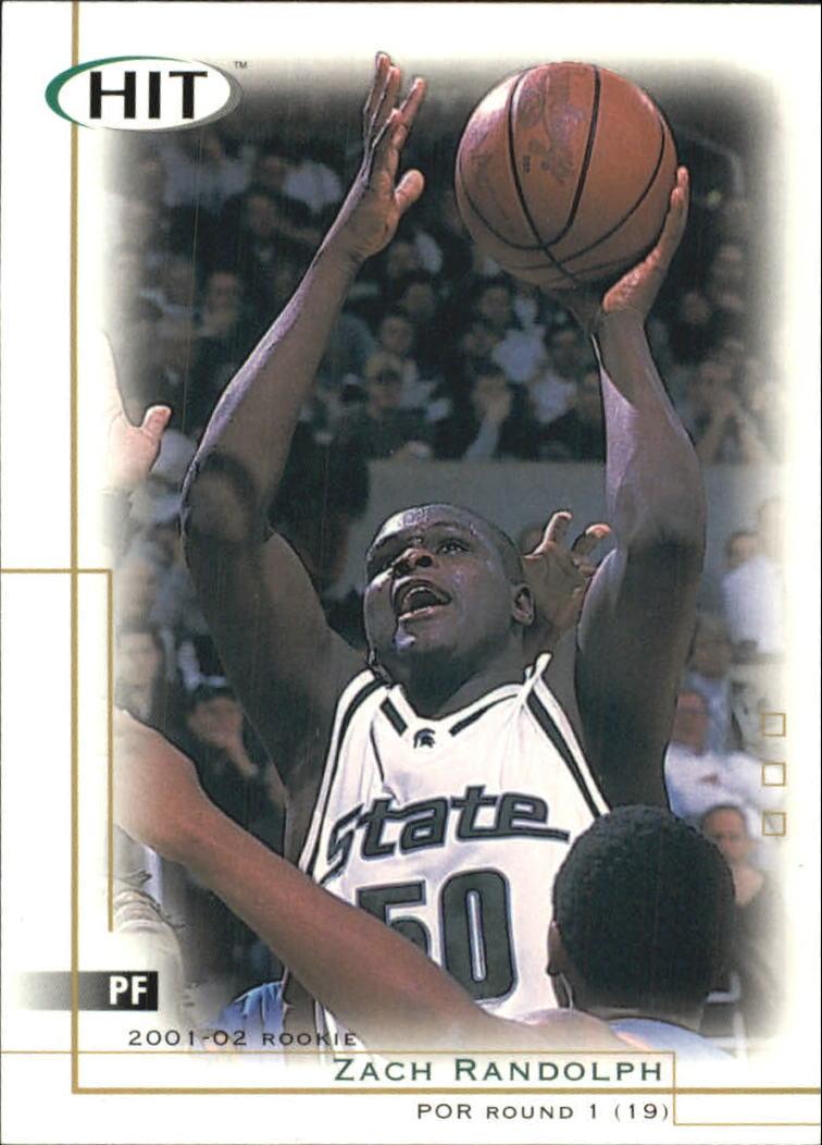 2001 SAGE HIT #19 Zach Randolph