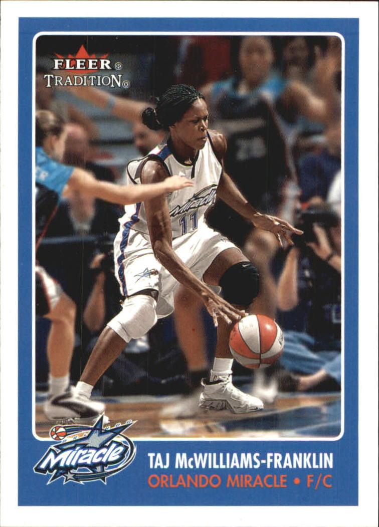 2001 Fleer WNBA #12 Taj McWilliams-Franklin