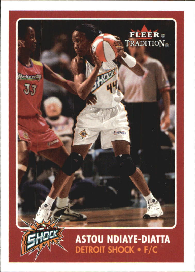 2001 Fleer WNBA #23 Astou Ndiaye-Diatta