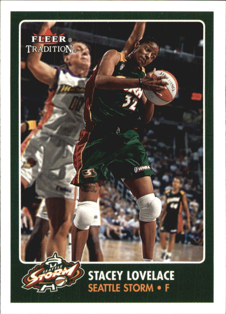 2001 Fleer WNBA #38 Stacey Lovelace RC