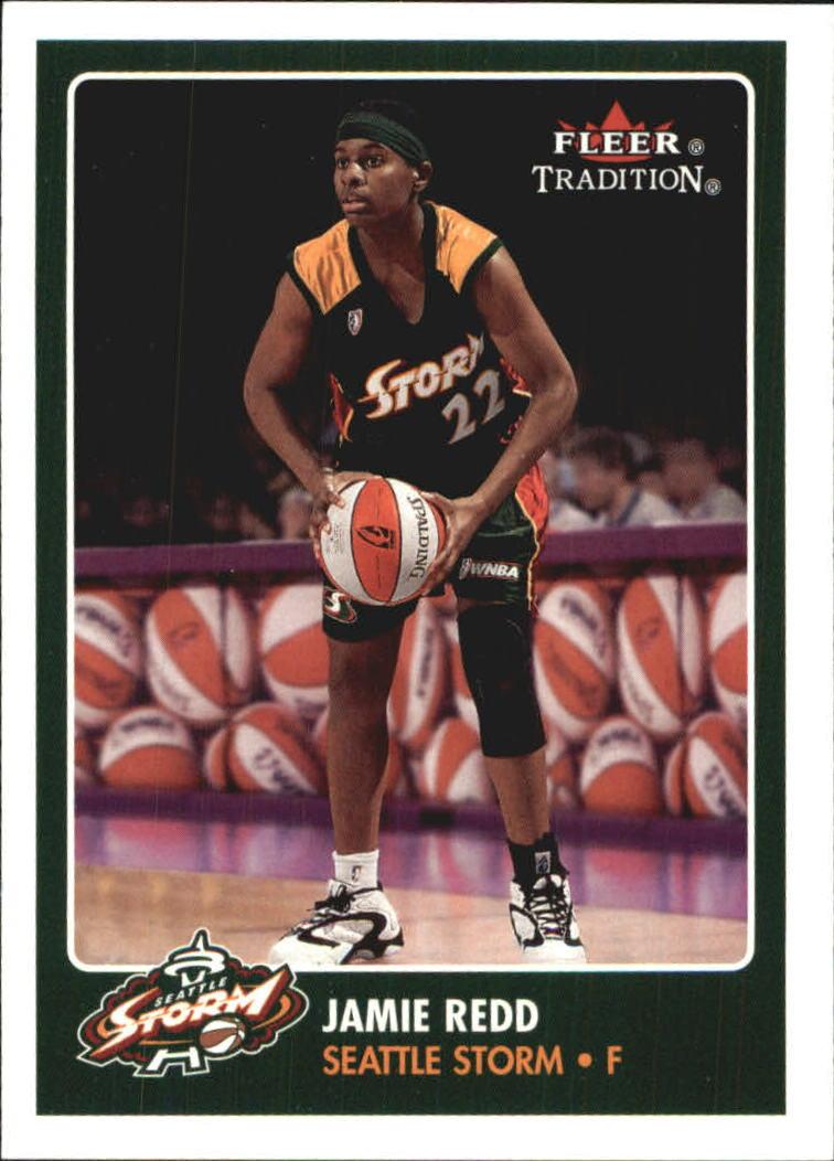 2001 Fleer WNBA #44 Jamie Redd RC
