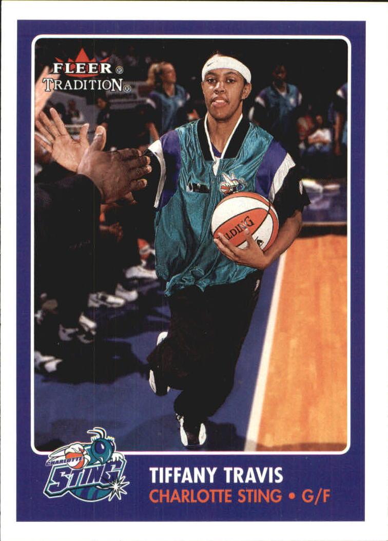 2001 Fleer WNBA #103 Tiffany Travis RC
