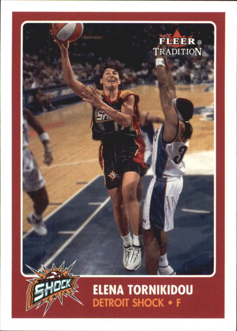 2001 Fleer WNBA #135 Elena Tornikidou RC