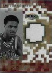 2001-02 Upper Deck Playmakers PC Warm Up Gold #TCGW Tyson Chandler