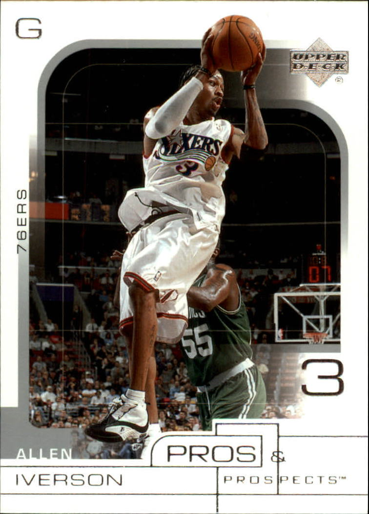2001-02 Upper Deck Pros and Prospects #61 Allen Iverson