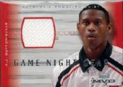 2001-02 Upper Deck MVP Game Night Gear #AJG A.J. Guyton