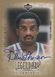 2001-02 Upper Deck Legends Legendary Signatures #DT David Thompson