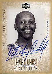 2001-02 Upper Deck Legends Legendary Signatures #NA Nate Archibald