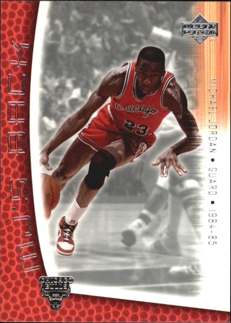2001-02 Upper Deck MJ's Back #MJ3 Michael Jordan/Pro Statistics