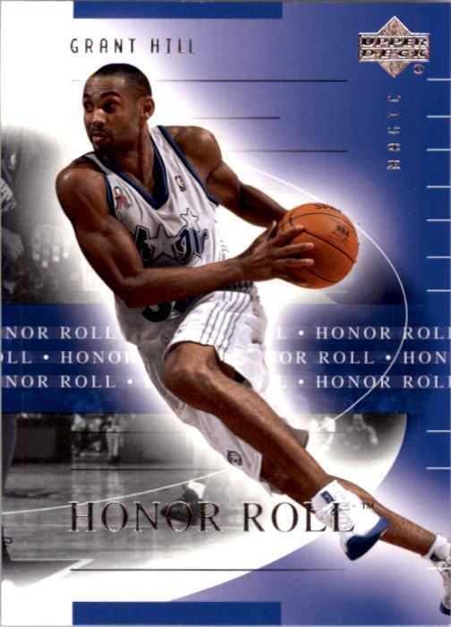 2001-02 Upper Deck Honor Roll #62 Grant Hill