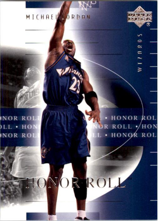 2001-02 Upper Deck Honor Roll #90 Michael Jordan