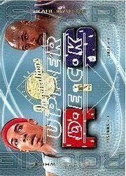 2001-02 Upper Deck Inspirations #135 Karl Malone JSY/Rodney White JSY RC