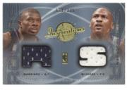 2001-02 Upper Deck Inspirations #140 Michael Jordan JSY/Jason Richardson JSY RC