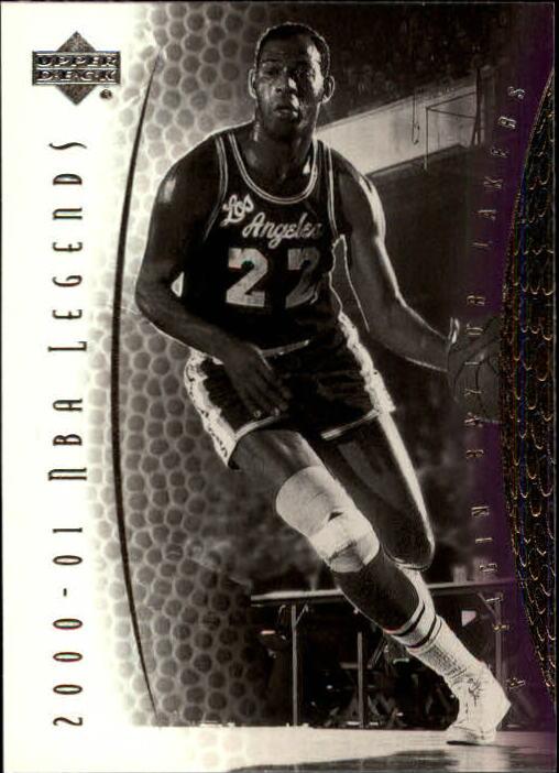 2001-02 Upper Deck Legends #18 Elgin Baylor