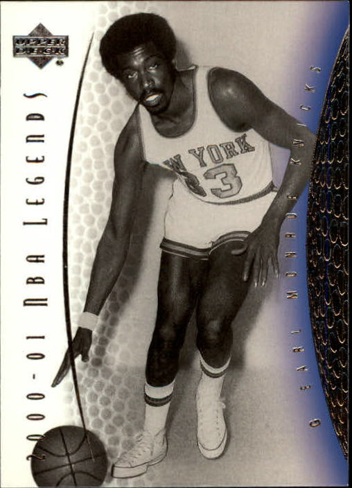 2001-02 Upper Deck Legends #45 Earl Monroe