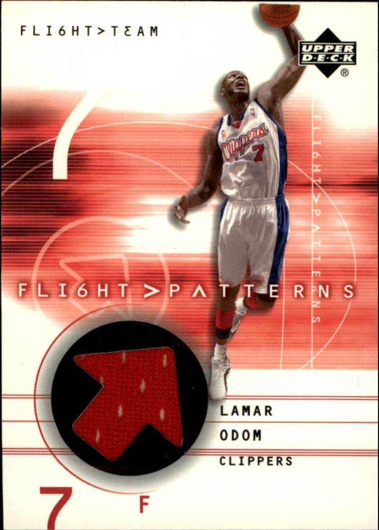 2001-02 Upper Deck Flight Team Flight Patterns #LO Lamar Odom