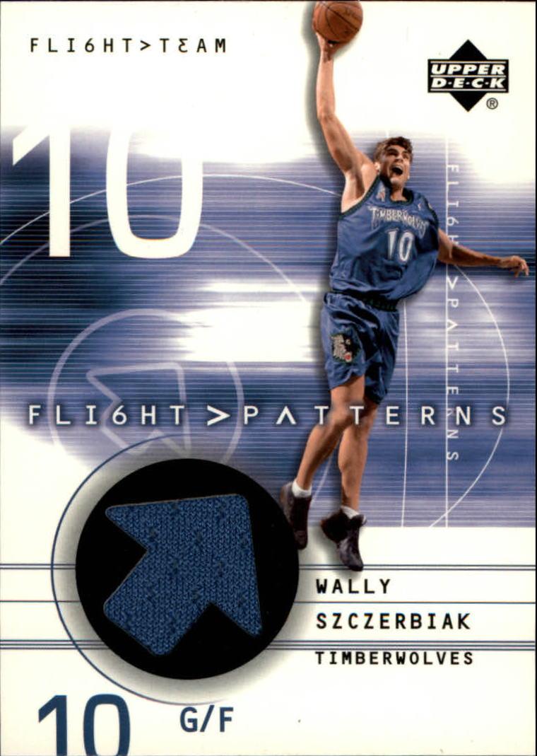 2001-02 Upper Deck Flight Team Flight Patterns #WS Wally Szczerbiak
