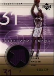 2001-02 Upper Deck Flight Team Flight Patterns Gold #SH Shawn Marion