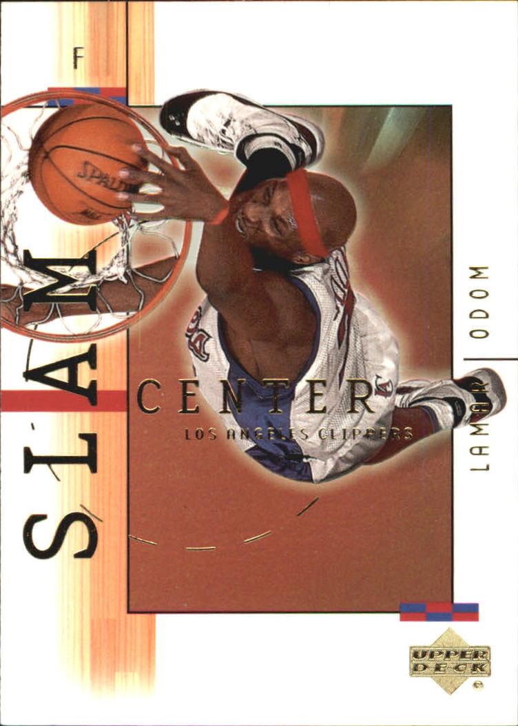 2001-02 Upper Deck SlamCenter #SC5 Lamar Odom