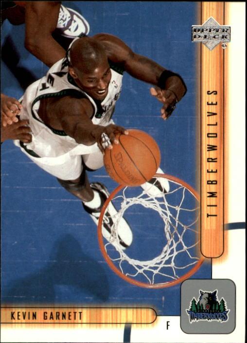 2001-02 Upper Deck #99 Kevin Garnett